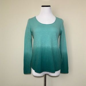 NWT Anthropologie Pure + Good Ombré Top